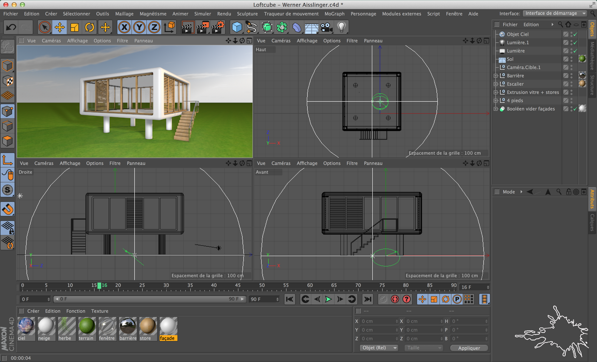 cinema 4D loftcube blog